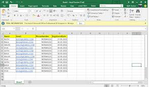 Name Email Phone Number Sheet Multiple Excel Files Import To Database In Mvc Developer Source