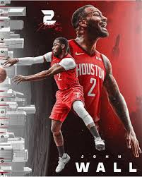 Wall appears on track to miss his fourth game in a row due to left knee soreness. Houston Rockets On Instagram Johnwall X Fanartfriday Houston Rockets Houston Rockets Basketball Nba Basketball Art
