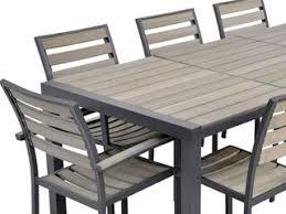 Ensemble chaise et table de jardin | Acp37
