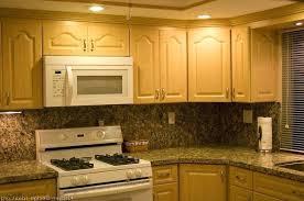 backsplash tile with black granite countertops kitchen white brick tile black granite marble floor light oak