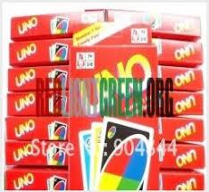 <b>5pcs</b> / <b>lot</b> UNO Card Game Playing Card Family Fun (5 decks per lot ...