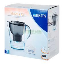 <b>Кувшин Brita Марелла XL</b> графитовый
