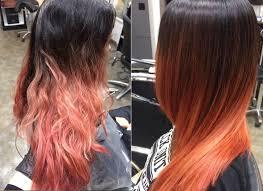 Kreative Haarfarben 2018 Frisuren Vorher Nachher Langhaarfarben