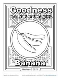 Small Picture Fruit of the Spirit for Kids Goodness Coloring Page
