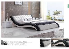 US $895.0 |Modern White PVC PU Leather Cushion Bed for Bedroom Furniture-in Beds from Furniture on Aliexpress.com | Alibaba Group