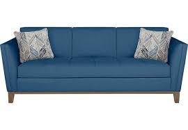teal blue furniture. Living Attractive Rooms To Go Sofa Bed Lr Sof 1001812p Parkboulevard Blue Cindy Crawford Home Park Teal Furniture