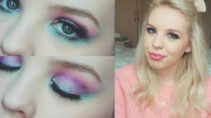 glam 80 s inspired makeup look phoebe cate you