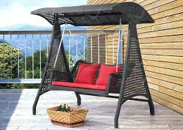 outdoor wicker swing chair brown teardrop swinging black patio rattan hanging outdoor swing chair with stand unique wicker