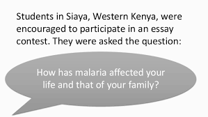siaya essay contest spotlights malaria in   malaria vaccine initiative 2