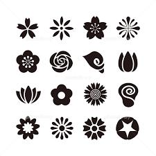 花のアイコン イラスト素材 4007218 フォトライブラリー Photolibrary
