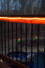 deck lighting ideas pictures. Cast A Soft, Inviting Glow Under Deck Railings With Rope Lights! Lighting Ideas Pictures