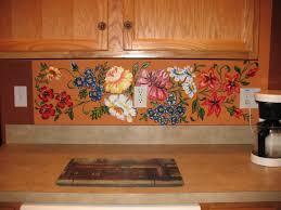 Kitchen Mural Murals Tatsianas Studio