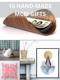 gift guide  handmade treasures for midcentury modern lovers