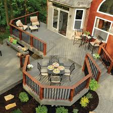 Backyard Decking Designs Model Awesome Ideas