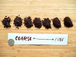 A coarse ground will look somewhat chunky. Ultimate Coffee Grind Size Chart How Fine Should You Grind