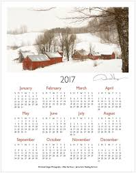 one page calender 2017 jenne farm one page calendar donald verger photography