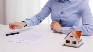 msn office. Architecture, Building, Business, Real Estate And People Concept - Woman With House Model Pen Signing Contract Document At Office Stock Video Footage Msn