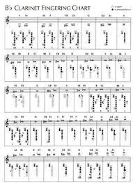 Clarinet Chromatic Scale Finger Chart 14 Best Clarinet Images Clarinet Clarinet Sheet Music