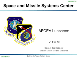 Space And Missile Systems Center Org Chart Space And Missile Systems Center Afcea Luncheon 21 Feb 13