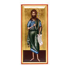 "Icona raffigurante San Giovanni Battista ""o prodromos"" - Mondo Bizantino"
