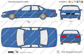 The-Blueprints.com - Vector Drawing - Chevrolet Impala SS
