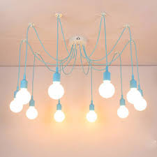 custom pendant lighting. Custom Pendant Lights Colorful DIY Lighting Multi-color Silicone E27 Bulb Holder Lamps Home Decoration 4-12 Arms Fabric Cable T