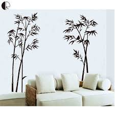 bamboo wall decor unique super fashion bamboo wall decor wall stickers elegant diy