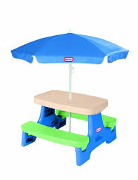childs kids outdoor picnic table for tikes furniture