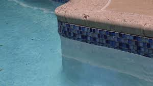swimming pool blue glass tile installation blue bell pa