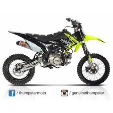 thumpstar tsx 140 pit bike dirt bike motorbike motocross