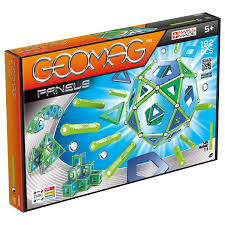 Магнитный <b>конструктор Geomag Panels</b> Green (32, <b>83</b>, 192 детали)