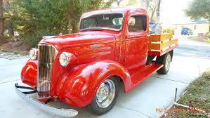 Chevy Custom Truck (Resto Mod) with Oak Wood Flatbed