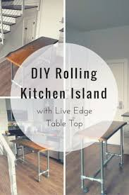 Diy Rolling Kitchen Island 23 Best Images About Kitchen Islands Carts On Pinterest