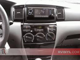 Toyota Corolla 2003-2008 Dash Kits | DIY Dash Trim Kit