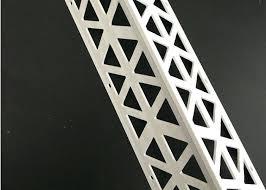 plastic render vinyl corner bead outside drywall plasterboard edge gyproc