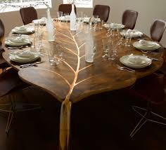 tables furniture design. Modren Furniture Solid Wood Furniture For Modern Interior Design And Decor In Trending Eco  Style Leaf Shaped Dining Table Made Of Solid Wood Unique Design In Tables Furniture Design L