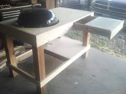 diy grill table luxury build a kettle grill table of diy grill table best of weber