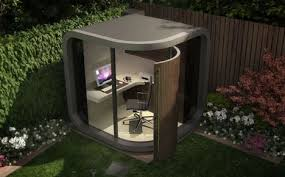 home office in the garden. Officepod In Garden Image Home Office The