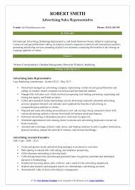 Advertising Sales Representative Resume Samples | Qwikresume