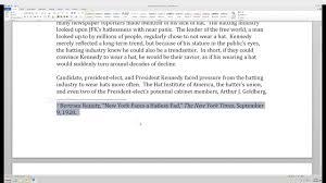 Citation Basics Episode 3 Inserting Footnotes