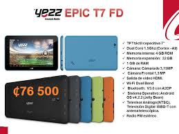 TicoCel SCA - Yezz Epic T7FD a tan solo ...