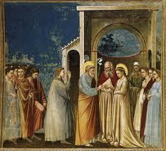 Giotto Le Mariage De Marie Et Joseph Franciscains Du Canada