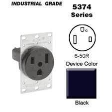 leviton 5374 50 amp flush mount receptacle 250v 6 50r 2p3w leviton 5374 50 amp flush mount receptacle 250v 6 50r 2p3w