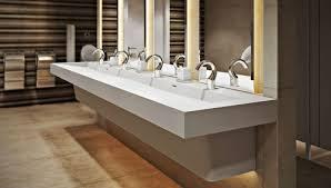 commercial bathroom sink. Commercial Trough Sink Bathroom A