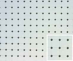 black and white diamond tile floor. Brilliant Black Dollhouse Miniature Diamond Tile Flooring In Black U0026 White With And Floor 0