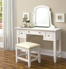 white makeup vanity with drawers. cool white makeup vanity table with single mirror and three drawer storage feat bench on wooden 65 desk drawers wonderful -