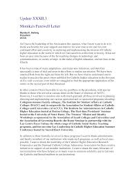 Free Formal Farewell Letter To Company Templates At