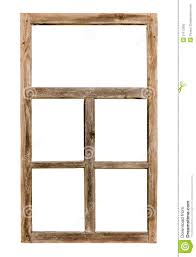 simple wood picture frames. Vintage Simple Wooden Window Frame Isolated On White Wood Picture Frames H