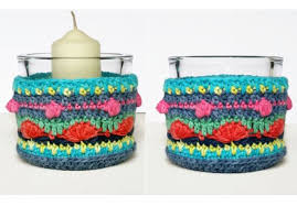 pattern idea crochet pattern colorful lantern home decoration gift idea