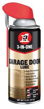 wd40 garage door
